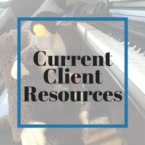 Current Client Resources
