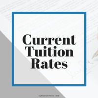 Current tuition rates