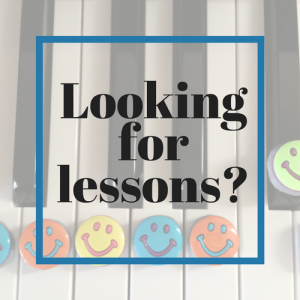 Looking for lessons?