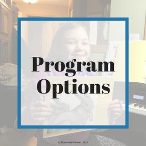Program Options (Button)