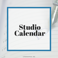 Important dates in the studio