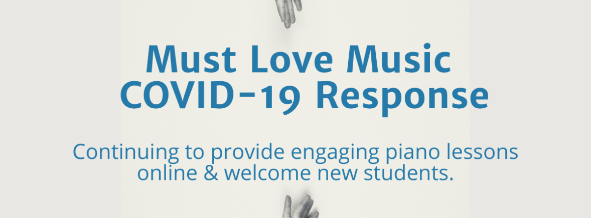 Must Love Music COVID-19 Response