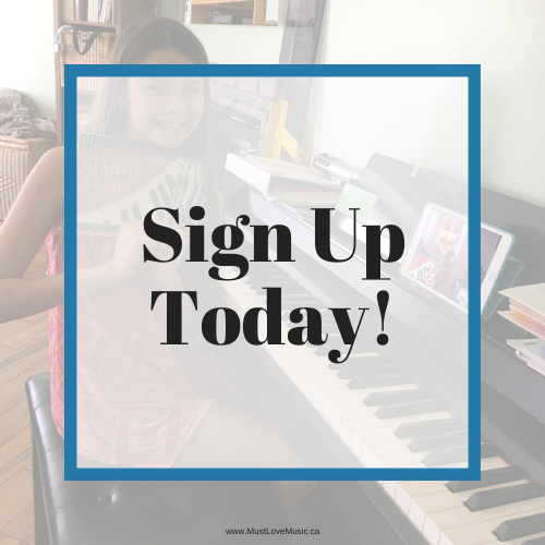 Sign up today for online piano lessons